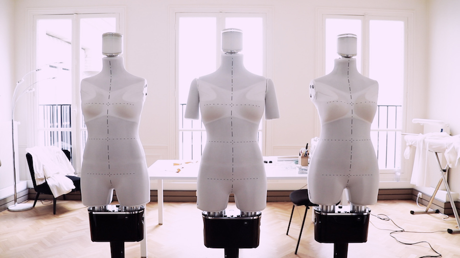 Robot mannequin