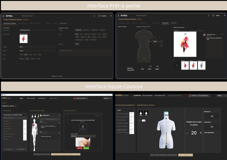 Interface Mimeo
